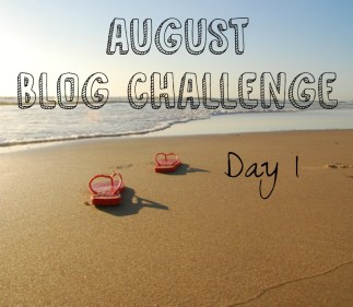 August Blog Challenge | Day 1: A Photo of Yourself