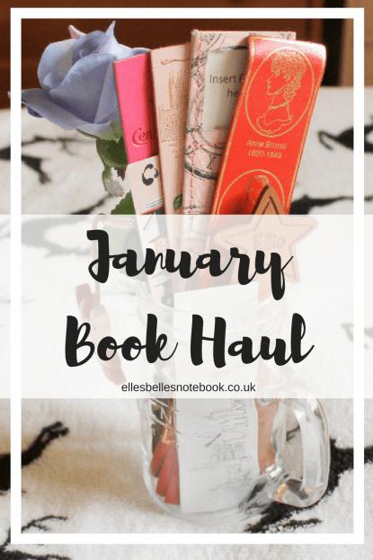 January Book Haul Pinterest