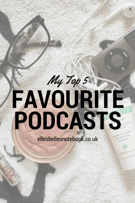 Top 5 Fave Podcasts Pinterest
