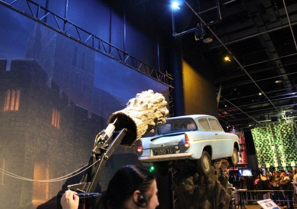 Harry Potter Ford Anglia