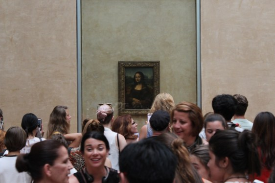 Mona Lisa, Paris 2017
