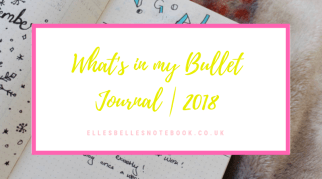What's in my Bullet Journal | 2018