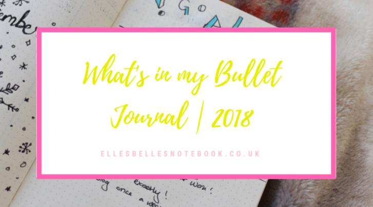 Bullet Journal Flipthrough 2018