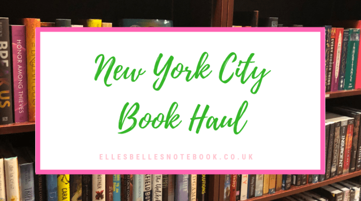 New York City book haul