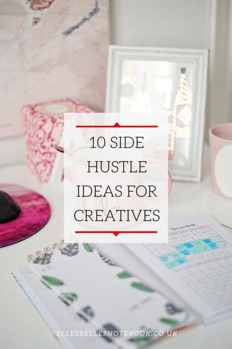 10 Side Hustle Ideas for Creatives