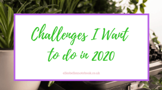 Challenges I Want to do in 2020