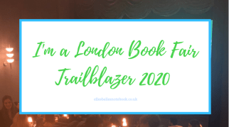 I'm a London Book Fair Trailblazer 2020