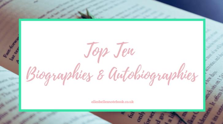 Top Ten Biographies & Autobiographies