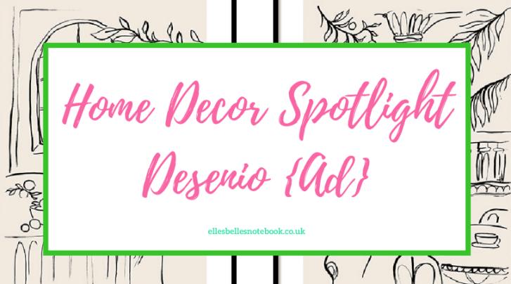 Home Decor Spotlight Desenio with Discount Code