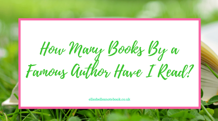 How Many Books By a Famous Author Have I Read?