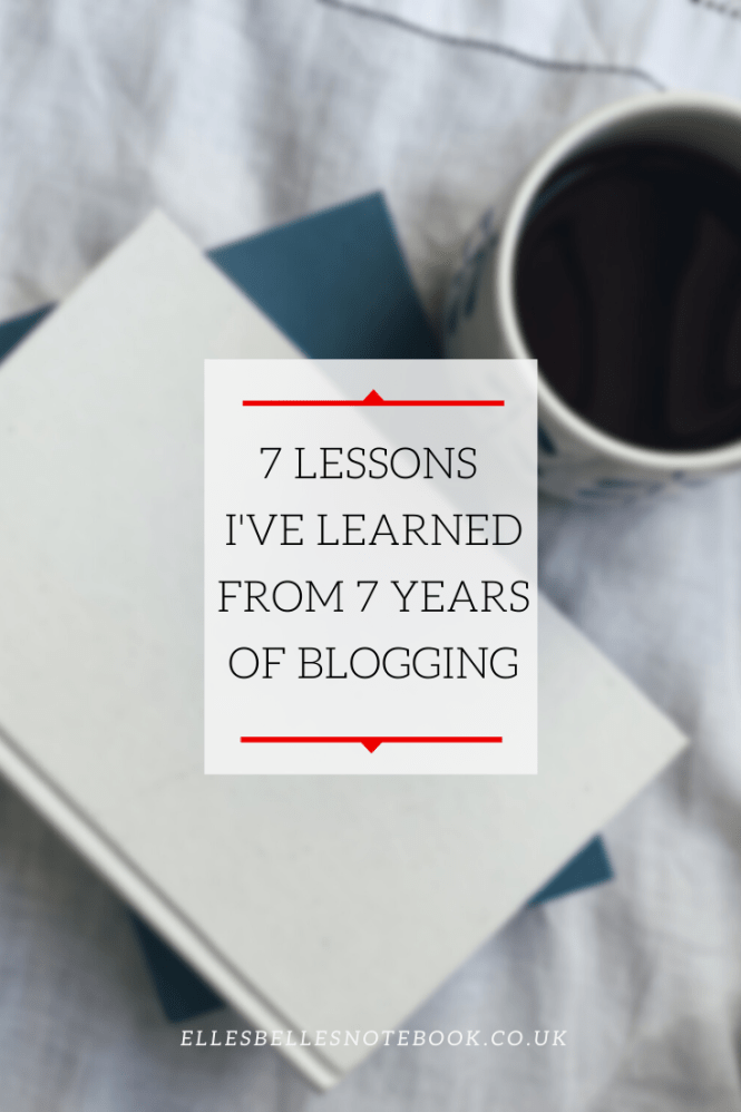 Lessons I've Learned from 7 Years of Blogging