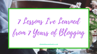 7 Lessons I've Learned from 7 Years of Blogging