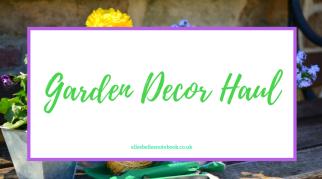 Garden Decor Haul