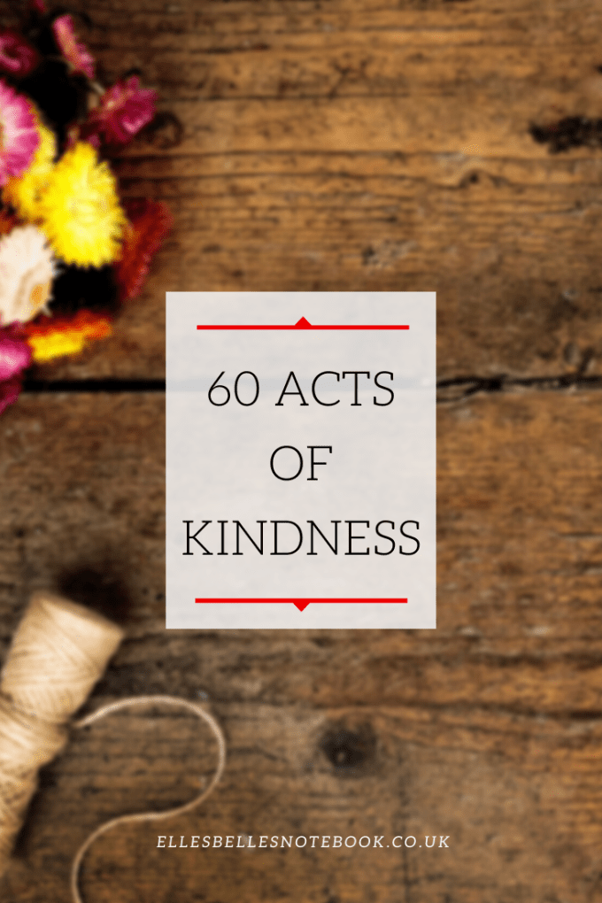 60 Acts of Kindness