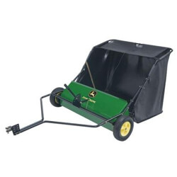 Brinly Cubic Feet Tow Behind Lawn Sweeper