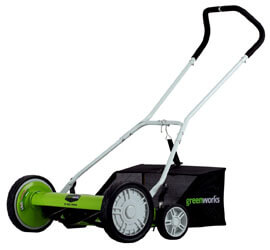 Greenworks Push Reel Lawn Mower