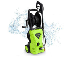 WHOLESUN Electric Pressure Washer Hose Reel