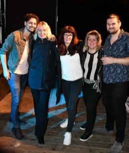 Lasse i Parken, Stockholm, 4 september 2019. Med Warren Attwell (sång, låtskrivare & producent från Nordirland)