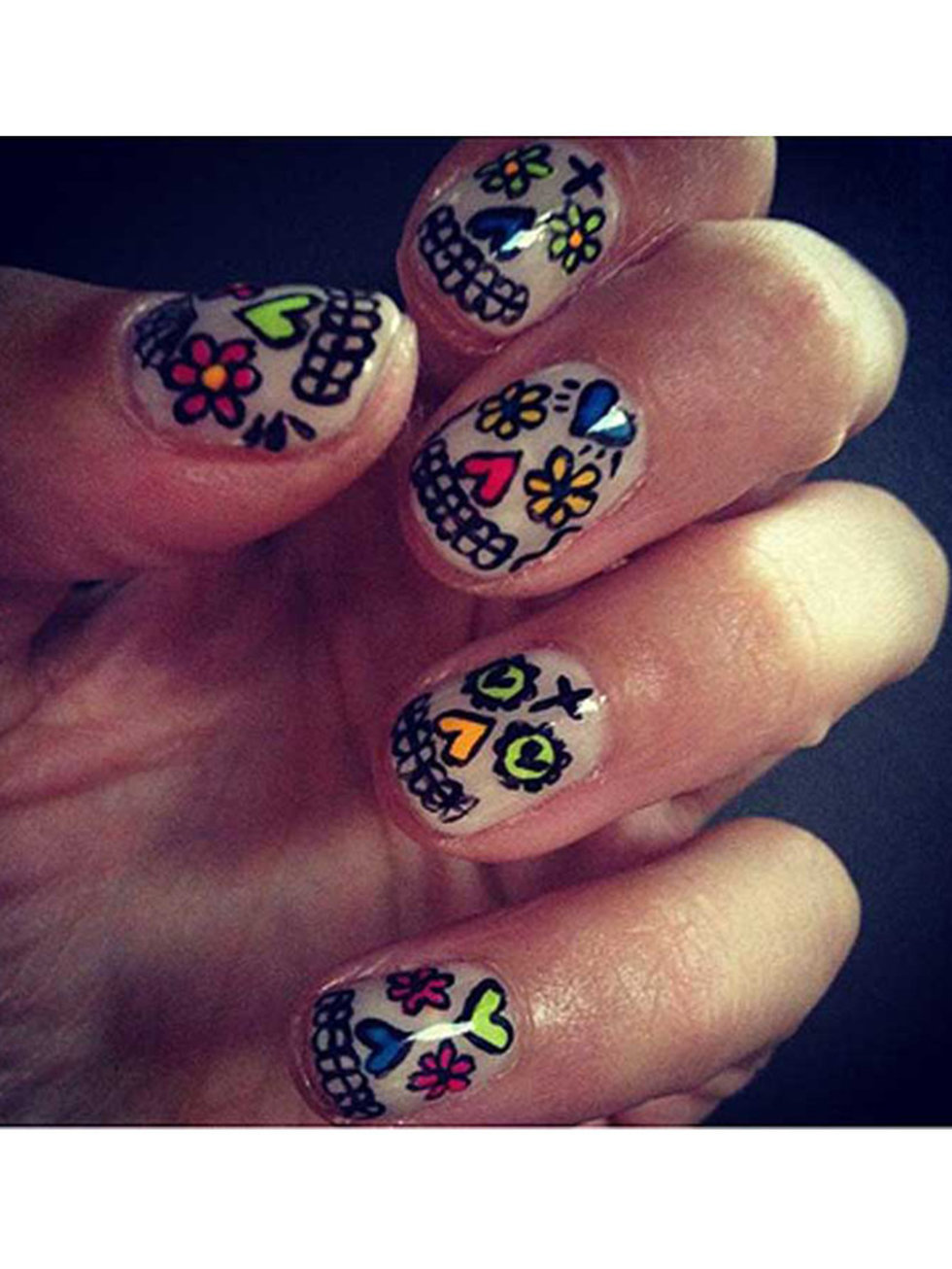 Nail Art Designs The Best Celebrity For All Your Manicure Inspiration