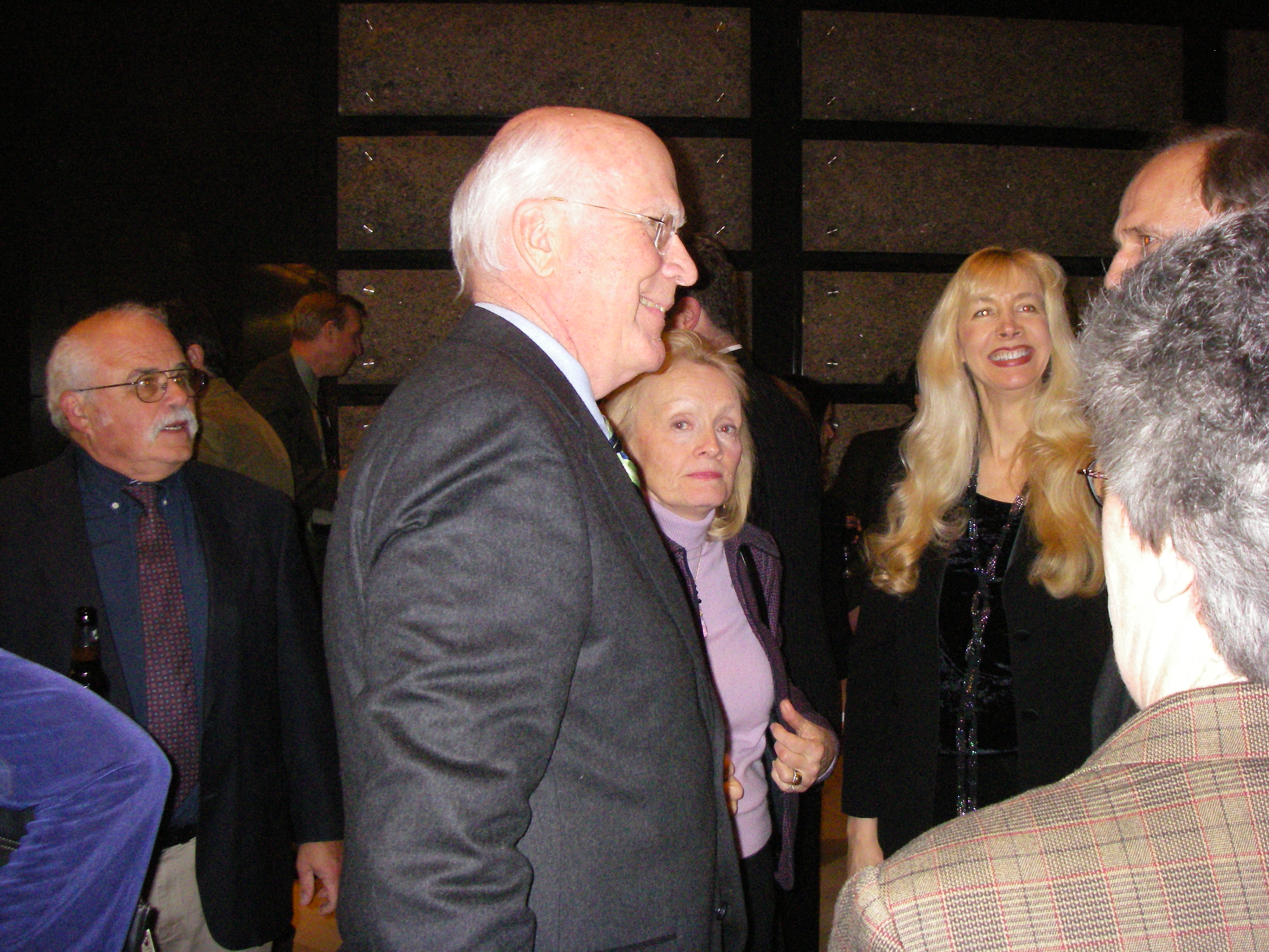 Senator Patrick Leahy at the Vermont State Society Reception