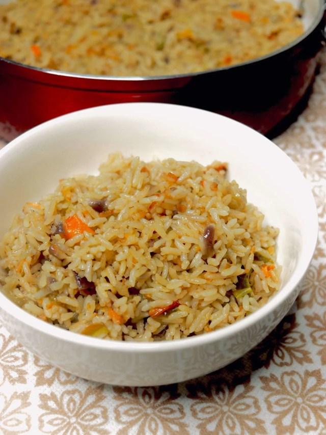 Nigerian Coconut Rice Recipe