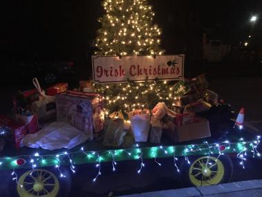 Irish Christmas Wagon