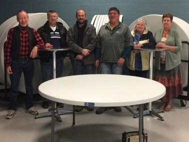 Rotary Donation Tables