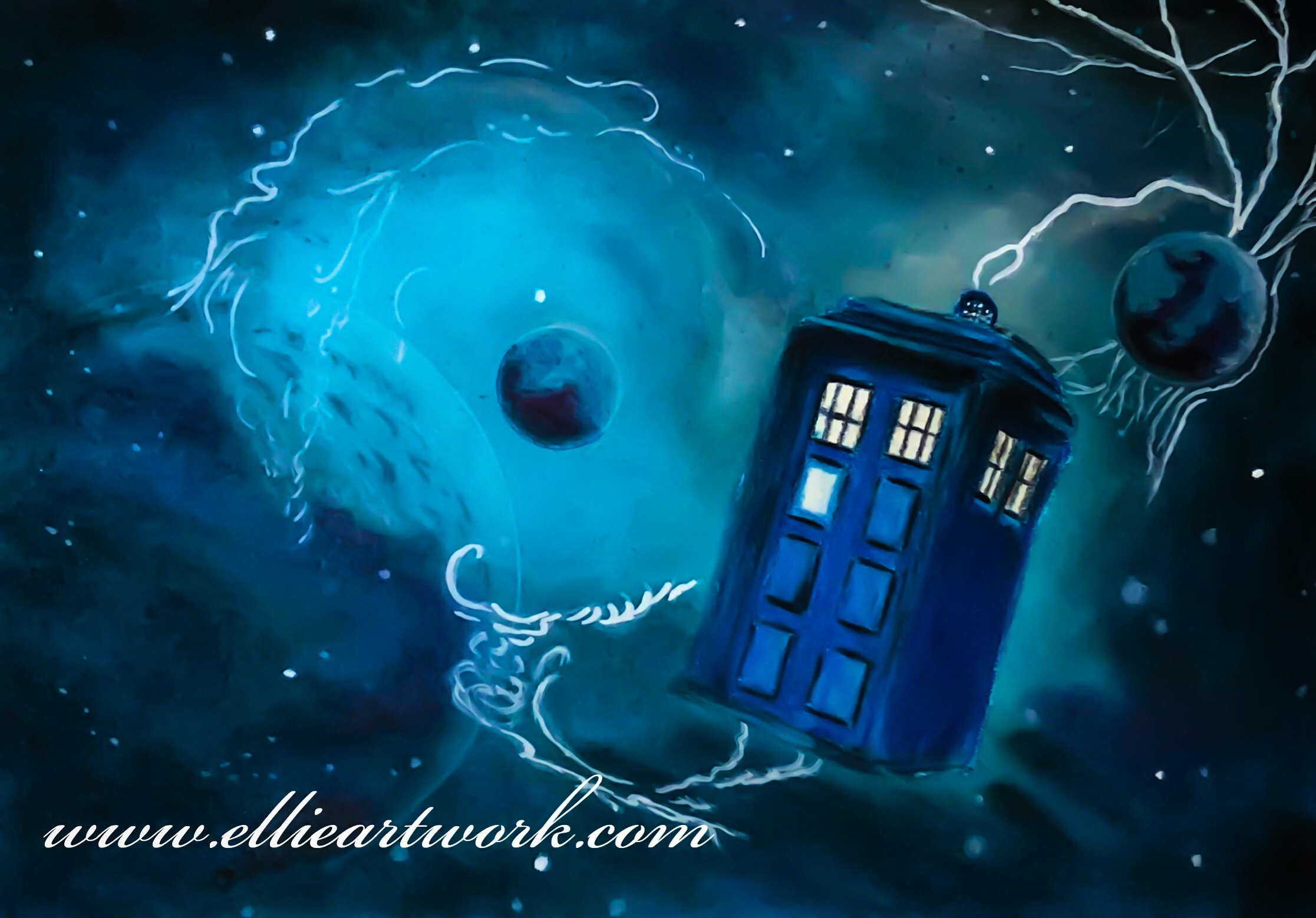 Timeless Dr Who Artwork