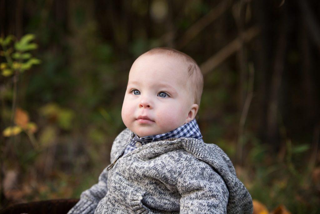 Outdoor Family and One Year Milestone Session | Baby Photographer | Beachwood, Ohio