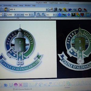 Digitaal omzetten van het logo