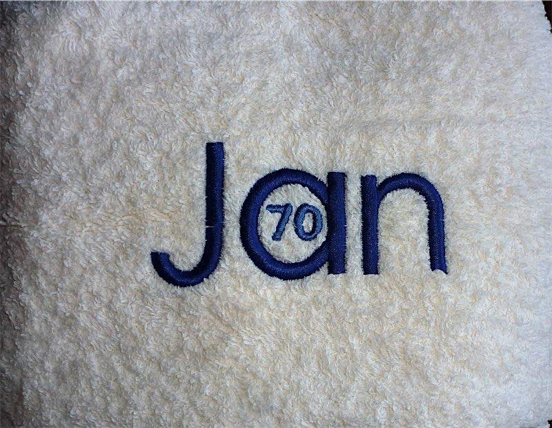 jan 70 handdoek