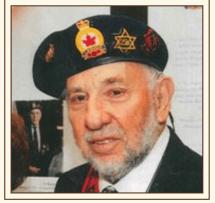 Jerry Rosenberg in uniform