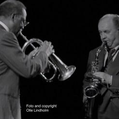 Clark Terry and Arne Domnérus