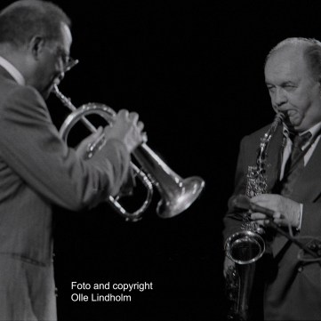 Clark Terry and Arne Domnérus