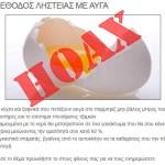 Αυγά στο παρμπρίζ… νέα μέθοδος ληστείας. ΗΟΑΧ