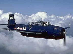 Αεροσκάφος ΤΒΜ-3 Avenger, παρόμοιο με τα αεροσκάφη της Πτήσης 19