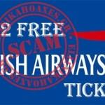 Δεν θα κερδίσεις εισιτήρια από την British Airways. Είναι μια απάτη στο facebook.