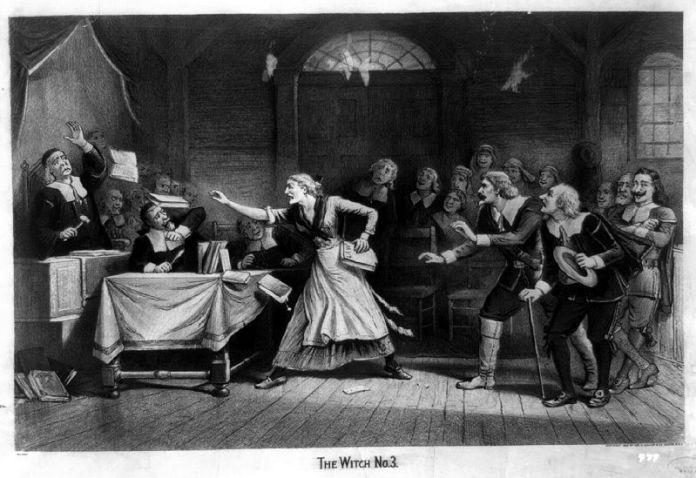 """Η μάγισσα, No. 3"""", c.1892, Ιωσήφ Μπέικερ."""