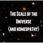 Η κλίμακα του σύμπαντος και η ομοιοπαθητική