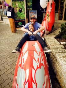 John and me