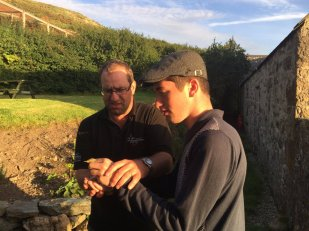Being given the honurs of realsing 1/3 Icterine Warblers by Steve Stainfield