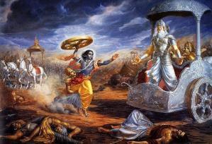 Mahabharata_depitction