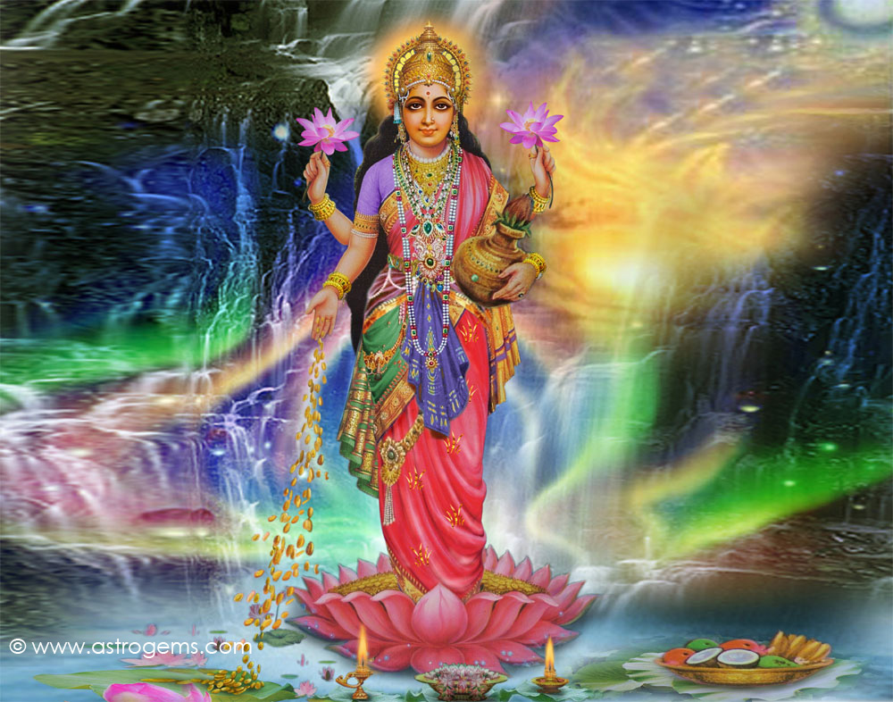 Lakshmi_goddess of wealth