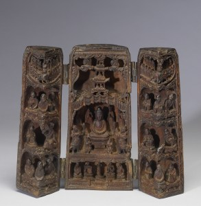 the Buddha teaches the Lotus Sutra