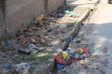 Nepalese trashcan