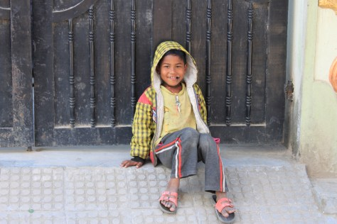 child in Dhaka
