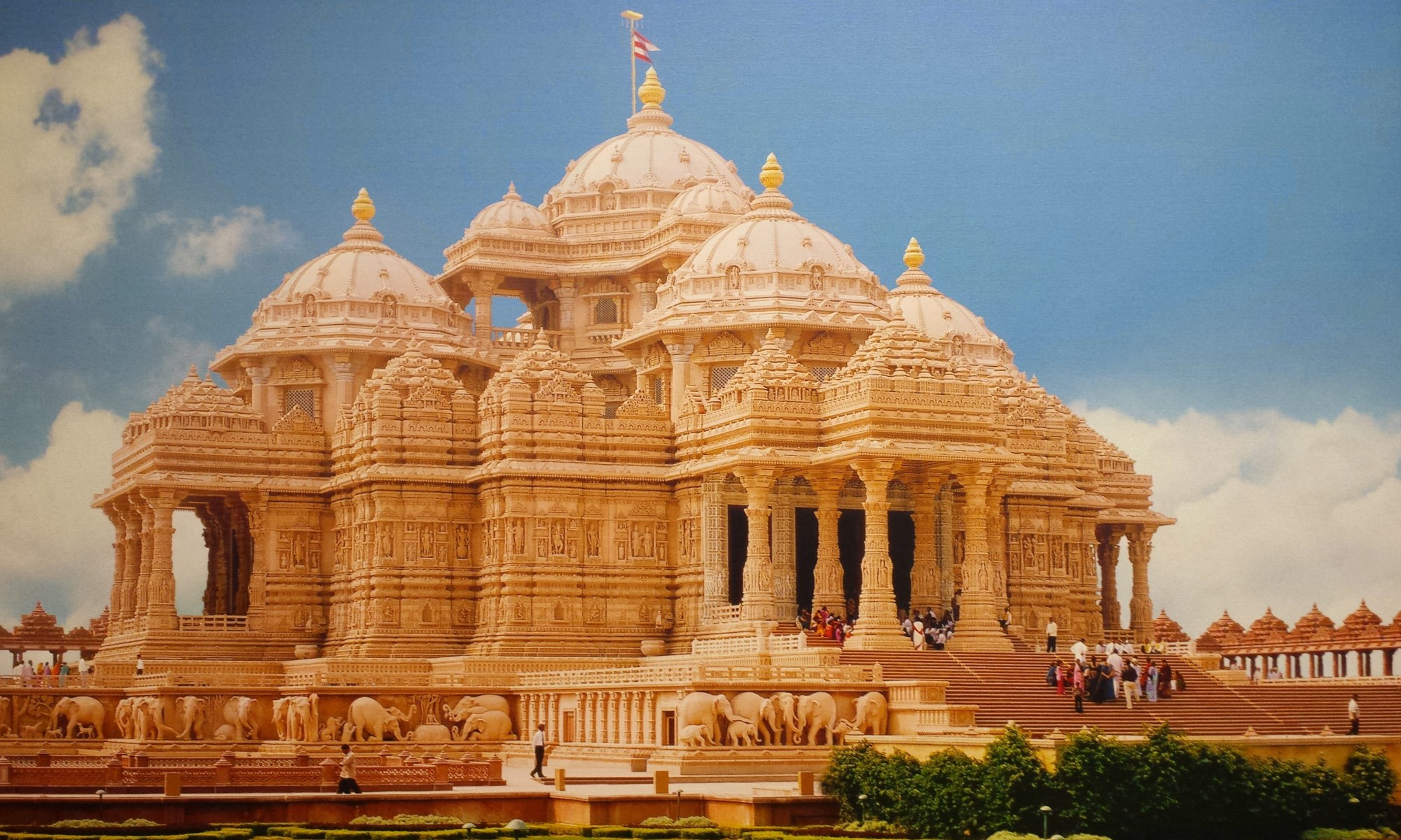 Biggest Hindu Temple: Akshardham (the Hindusim & the Caste system)
