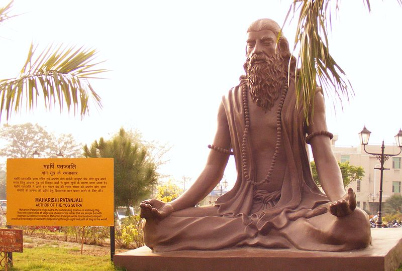 """""""Patanjali Statue"""" by User:Alokprasad - http://en.wikipedia.org/wiki/File:Patanjali_Statue.jpg. Licensed under CC BY-SA 3.0 via Wikimedia Commons - https://commons.wikimedia.org/wiki/File:Patanjali_Statue.jpg#/media/File:Patanjali_Statue.jpg"""