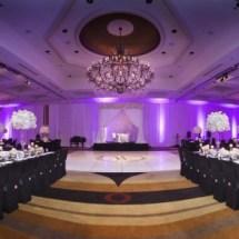 reception at loews vanderbilt, nashville wedding designer