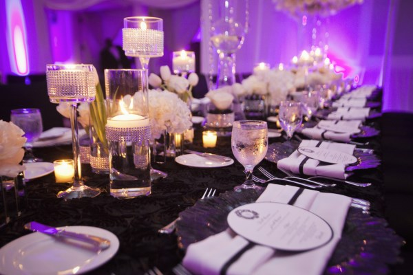 white and black wedding, wedding planner ,nashville
